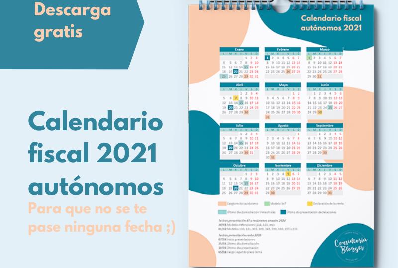 Post ig calendario 2021